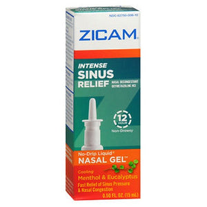 Zicam Intense Sinus Relief No-Drip Liquid Nasal Gel 0.5 oz by Zicam