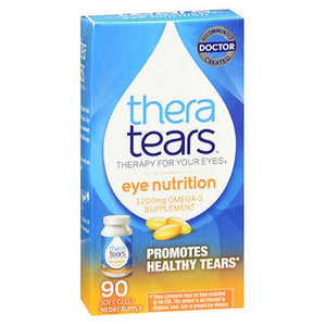 Thera Tears Nutrition For Dry Eyes Softgels 90 caps by Thera Tears
