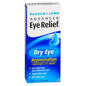 Bausch And Lomb Advanced Eye Relief Dry Rejuvenation Lubricant Drops 1 oz by Bausch And Lomb