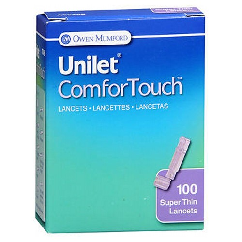 Unilet Comfortouch Lancets Model No : AT0465 100 each by Unilet