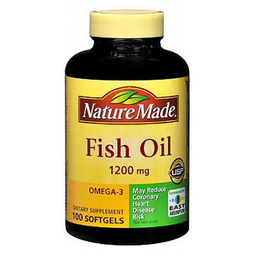 Fish Oil 100 Liquid Softgels by Nature Made