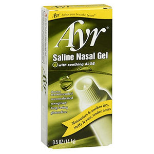 Saline Nasal Gel Soothing Aloe 0.5 oz by Ayr