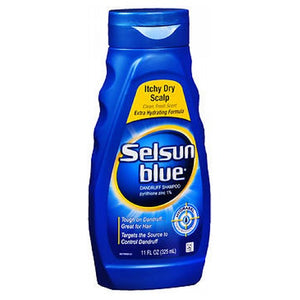 Selsun Blue Dandruff Shampoo Itchy Dry Scalp 11 oz by Act (2587524038741)