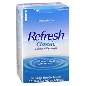 Refresh Classic Preservative-Free Eye Drops Single-Use Containers 50 ct by Refresh (2587524530261)