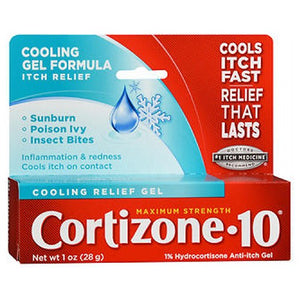 Cortizone-10 Cooling Relief Anti-Itch Gel Maximum Strength 1 oz by Cortizone-10 (2587525087317)