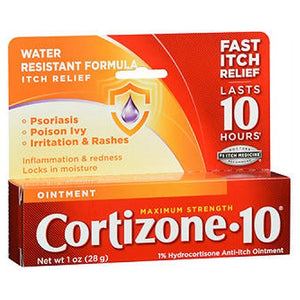 Cortizone-10 Anti-Itch Ointment Maximum Strength 1 oz by Cortizone-10 (2587527479381)