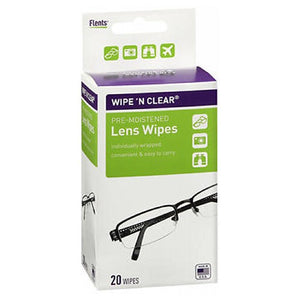 Flents Wipe N Clear Premoistened Tissues 20 each by Flents