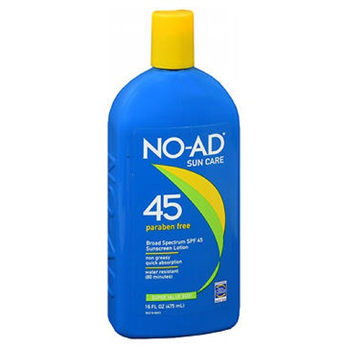 No-Ad Sunblock Lotion Spf 45 16 oz by No-Ad