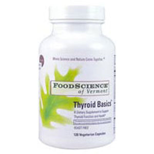 Thyroid Basics 120 caps by Foodscience Of Vermont