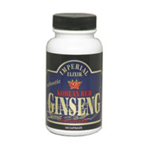 Korean Red Ginseng 50 Caps by Imperial Elixir / Ginseng Company