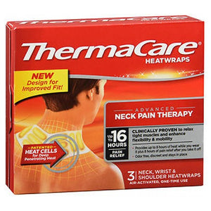 Thermacare Heatwraps Neck Shoulder And Wrist 3 each by Advil (2587539636309)