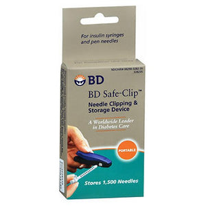 BD Safe-Clip Needle Clipping & Storage Device 1 e ach by BD