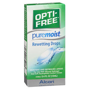 Opti-Free Puremoist Rewetting Drops 0.4 oz by Opti-Free