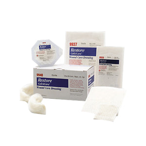 Restore Calcium Alginate Dressing 4 X 4 Box 10 each by Hollister