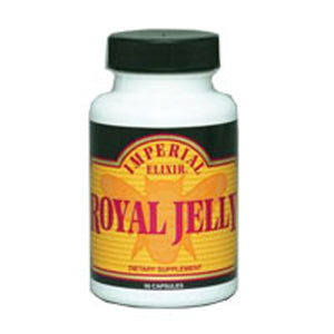 Royal Jelly 50 Caps by Imperial Elixir / Ginseng Company (2588687892565)