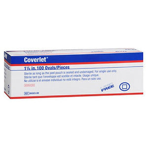 Jobst Coverlet Spot Oval Band Aid 100 each by Jobst