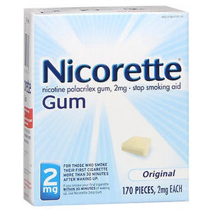 Nicorette Gum Starter Kit Original 170 each by Nicorette (2588050423893)