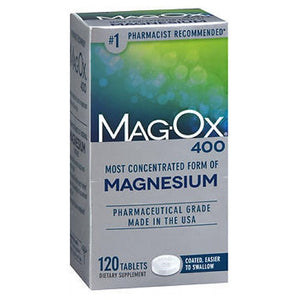 Mag-Ox 400 Tablets 120 tabs by Magox (2587547893845)