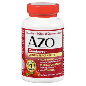 Azo Cranberry Urinary Tract Health 100 ct by Azo (2587550777429)