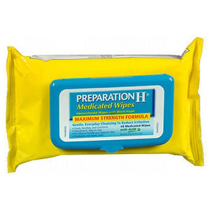 Preparation H Medicated Wipes 48 unit by Preparation H