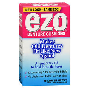 Ezo Denture Cushions Lower Heavy 15 each by Med Tech Products