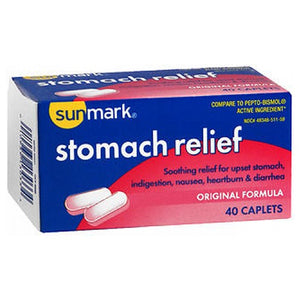 Sunmark Stomach Relief Original 40 tabs by Sunmark
