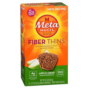 Metamucil Fiber Wafers Apple Crisp 24 each by Metamucil (2587559919701)