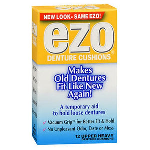 Ezo Denture Cushions Upper Heavy 12 each by Med Tech Products (2587560837205)