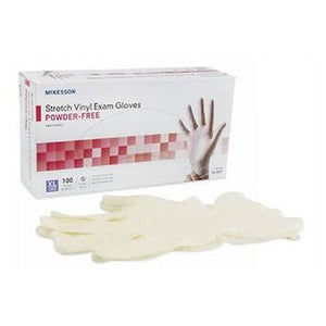 Polyvinyl Gloves Powder Free Extra Large 100 each by Cypress Medical Products