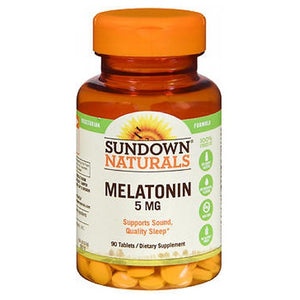 Sundown Naturals Extra Strength Melatonin 90 tabs by Sundown Naturals (2587569029205)