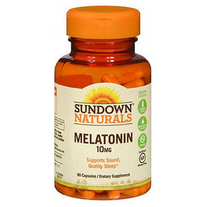 Sundown Naturals Melatonin 90 caps by Sundown Naturals (2587569324117)