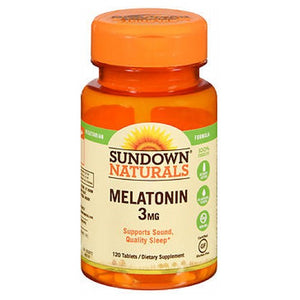 Sundown Naturals Melatonin 120 tabs by Sundown Naturals (2587570602069)