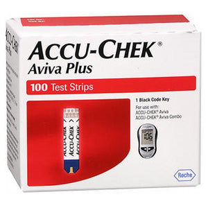 Accu-Chek Aviva Plus Test Strips 100 each by Accu-Chek (2587573026901)