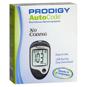 Prodigy Autocode Talking Blood Glucose Monitoring System 1 each by Prodigy