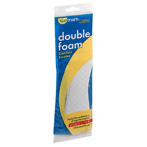 Sunmark Double Foam Comfort Insoles Womens 1 each by Sunmark