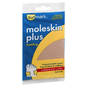 Sunmark Moleskin Plus Padding 1 each by Sunmark