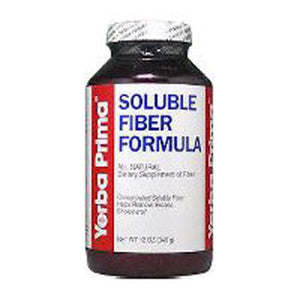 Soluble Fiber Formula 12 Oz Powder by Yerba Prima