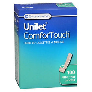 Unilet Comfortouch Ultra Thin Lancets 100 each by Unilet