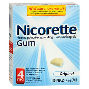 Nicorette Gum Starter Kit Original 110 each by Nicorette (2588079587413)
