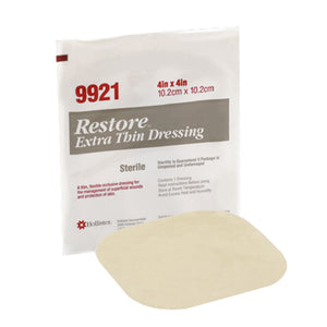 Hollister Restore 4X4 Extra Thin Hydrocolloid Dressing 5 each by Hollister
