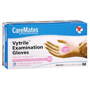 Caremates Vytrile-Pf Examination Gloves Medium 100 each by Caremates