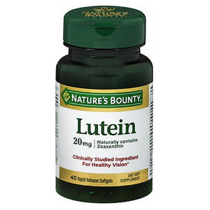 Natures Bounty Lutein 30 sgels by Nature's Bounty (2587582169173)