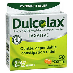 Dulcolax Laxative Tablets 50 tabs by Dulcolax (2587582562389)