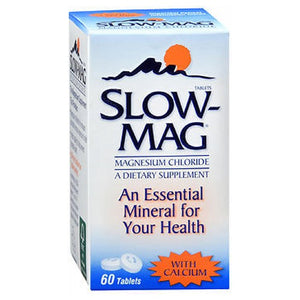 Slow-Mag Magnesium Chloride With Calcium 60 tabs by Betadine