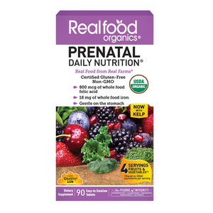 Realfood Organics Prental Daily Nutrition 90 Tabs  by Real Food Organics (2588095807573)