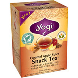 Caramel Apple Spice Snack Tea 16 bags(Case of 6) by Yogi