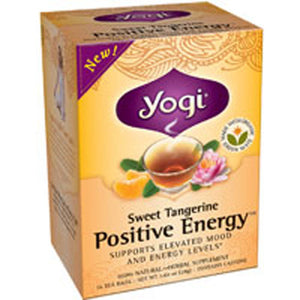 Sweet Tangerine Positive Energy 16 bags(Case of 6) by Yogi