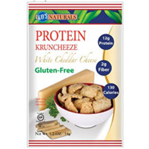 Better Balance Kruncheeze White Cheddar Cheese 1.5 oz(case of 6) by Kay's Naturals