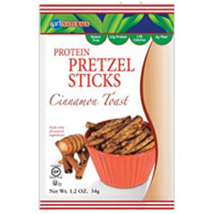 Better Balance Protein Pretzel Sticks Cinnamon Toast 1.2 oz(case of 6) by Kay's Naturals