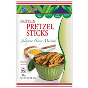 Better Balance Pretzel Sticks Jalapeno Honey Mustard 1.5 oz(case of 6) by Kay's Naturals